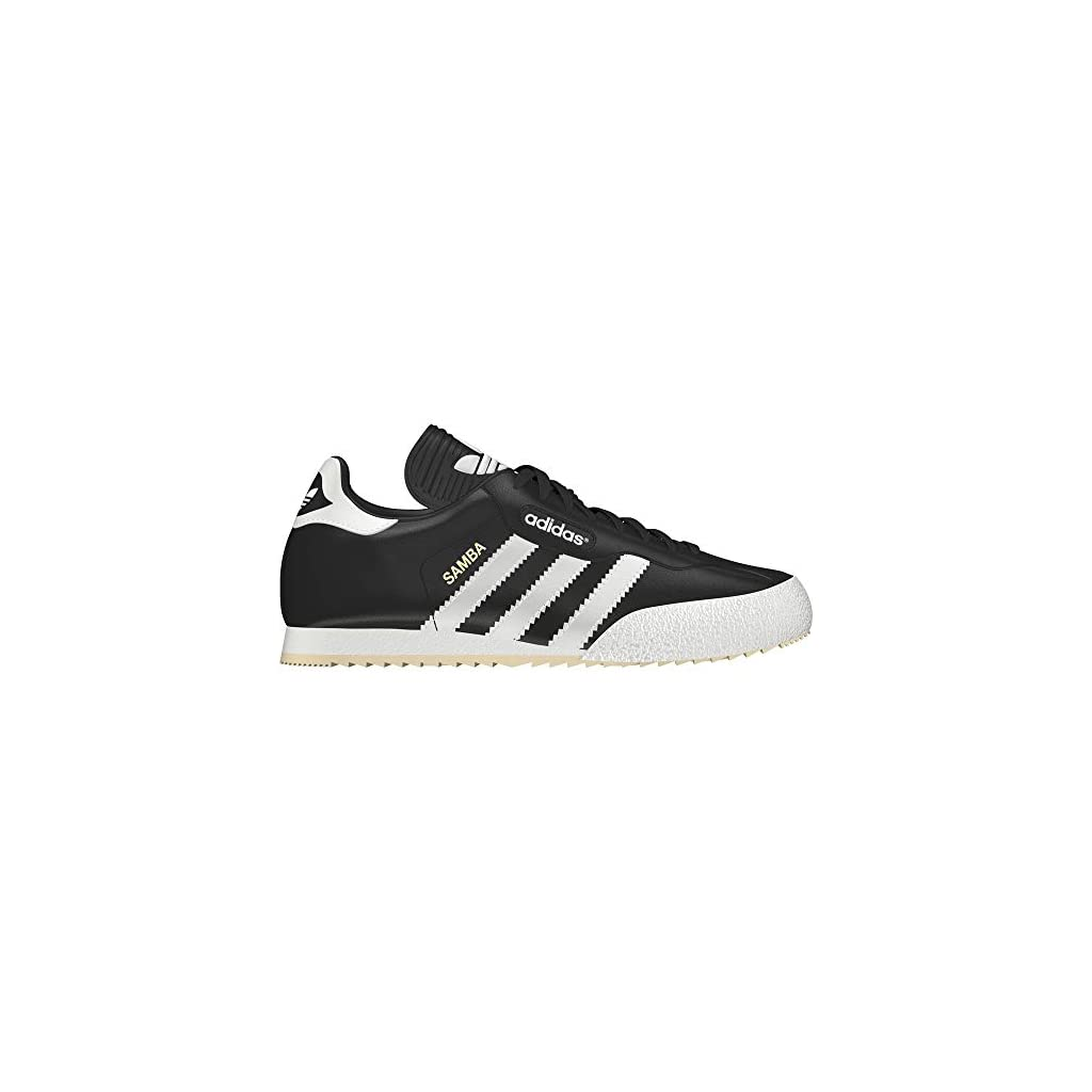adidas Men's Samba Super Fitness Shoes – 10 UK, black-black-running-white-footwear running shoes
