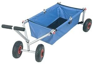 kranich faltbarer bollerwagen transportwagen luftbereifung 45kg sport freizeit. Black Bedroom Furniture Sets. Home Design Ideas