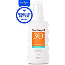 Biodermal Zonnebrand - Hydraplus Zonnespray - Intensieve hydratatie - BEST GETEST CONSUMENTENBOND - SPF 30 - 175ml