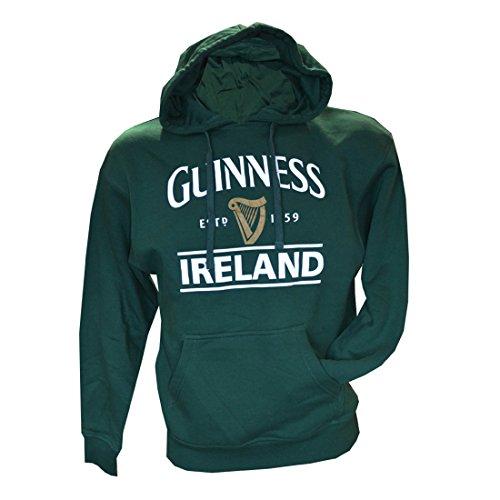 Guinness-Kapuzenpullover mit Guinness-Logo und