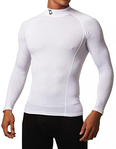 Defender Piel de medias de compresión simulacros camisas vestir béisbol Lt90 XX-Large-white