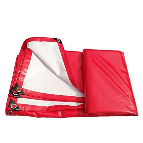 CKH Tissu supérieur rouge et blanc d'auvent de PVC imperméable à l'eau de protection solaire de camion résistant à l'usure de tente de célébration résistant à la pluie de tissu 3 de -4 mètres de tissu