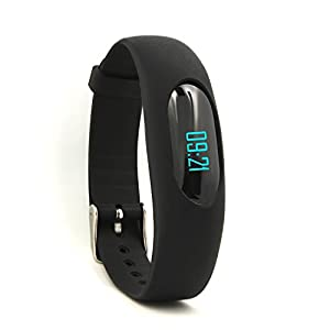 Smart Bracelet,YAMAY® No Bluetooth Pedometer Smart Band Fitness Watch Activity Tracker with Time Date Display,Step Tracking,Calorie Counter,Distance Calculator,Sport Time,Sleep Monitor