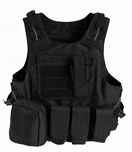SaySure - Hunting Vest Military Airsoft MOLLE Nylon Combat