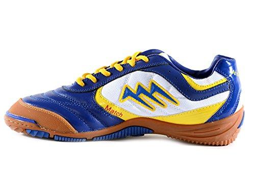 AGLA , Chaussures pour homme spécial foot en salle Blue/White/Yellow