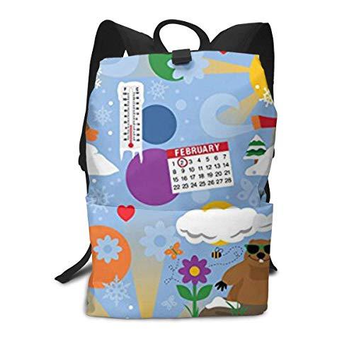 Biber Winter Temperture Rucksack Mitte für Kinder Jugendliche Schule Reisetasche