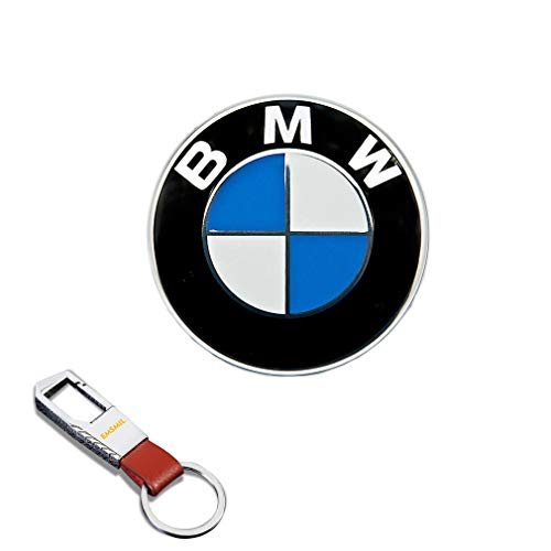 82 mm Emblem Haube Logo Vorne Hinten Motorhaube Kofferraum 1 3 5 7 Serie M3 M5 X5 X6 E30 E36 E46 für BMW Series
