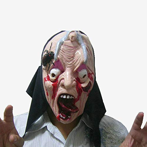 Creed Kostüm Sexy Assassins - WSJDE Halloween Horror Maske Ekelhaft Blutige Maske Kostüm Party Scare Props Scared Face Assassins Creed Cosplay Anonymer Maskenstreich   1