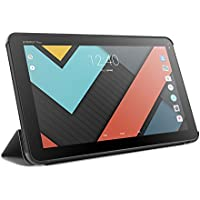 """Energy Sistem Tablet Stand Case 10.1"""" Neo 3 Lite (Housse exclusive fonction pupitre, coque rigide et couverture avec intérieur en microfibres) - Noire"""