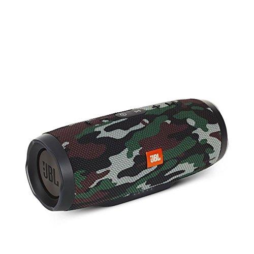 JBL Charge 3 Tragbarer Bluetooth Lautsprecher Wasserdicht mit 6000mAh Power Bank und Freisprechfunktion - Camo -