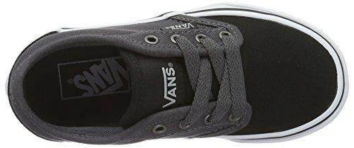 Vans  Yt Atwood, Sneakers Basses garçon Noir (2 Tone Black/asphalt)
