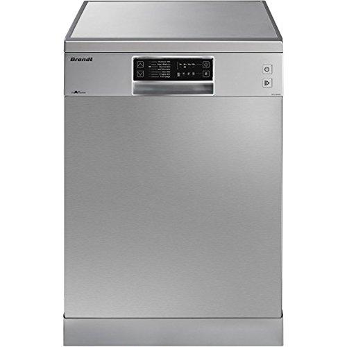 Brandt DFH13526X Autonome 13places A++ lave-vaisselle - Lave-vaisselles (Autonome, Argent, Taille maximum (60 cm), Argent, senseur, Acier inoxydable)