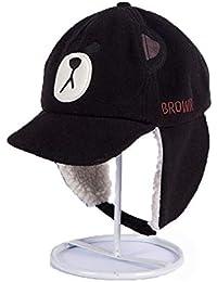 Fuxitoggo Gorras de béisbol Forradas de Piel para Mujer Confort de Invierno  Térmico CPAS a Prueba ff62941c865