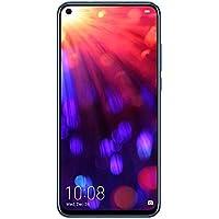 Honor View 20, Smartphone débloqué, 4G, (6,4 Pouces, 6Go RAM, 128 Go ROM, Double Nano SIM, Android P) Bleu saphir - [Version française]
