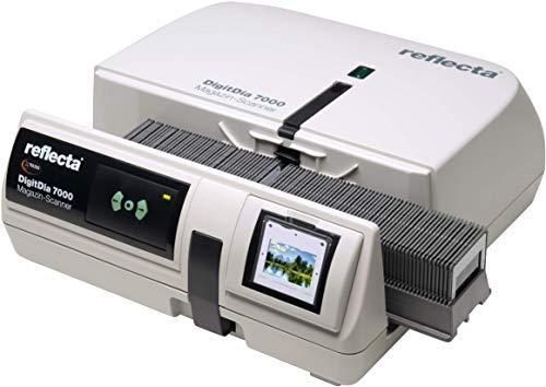 DIASCANNER MIETEN, Reflecta DigitDia 7000, ca. 15{07be63ee11790ff758480fe5c6749f2e0a587a35215946d5f3e27415908962f3} schneller diascannen, Dias digitalisieren mit Magic Touch und HDR Scan, Auflösung: 10000 DPI, inkl. Erklärungsvideo