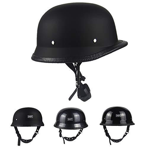 ZJRA Die Hälfte Helm, Retro Helm, Vintage-Pilot