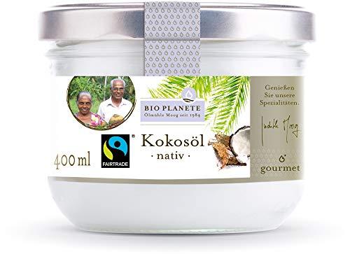 Bio Planete Bio Kokosöl nativ Fairtrade (6 x 400 ml)
