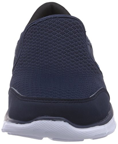 Skechers Equalizerpersistent, Sneakers basses homme Bleu Marine