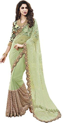 Mahotsav Women's Net Pure Silk Digital Print Sarees ( 8723 )  available at amazon for Rs.2070