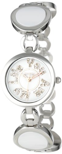 HAUREX ITALY You Are My Life White Dial Ceramic Watch #XA349DWH- Orologio da donna