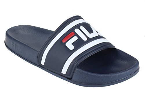 FILA Damen Morro Bay Slipper Synthetik Badepantoletten Dress Blue Größe 42