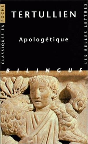 Apologétique par Tertullien