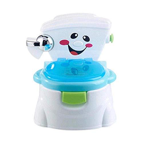 Ztoma Bebé Orinal de Aprendizaje, Plástico Seguridad Bebé Potty Training Asiento, Multifunción...