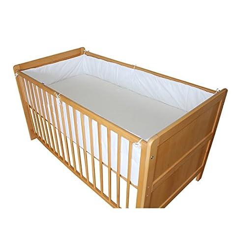 Babybett Nestchen Bettumrandung Nest Kopfschutz 420 cm, 360 cm, 210