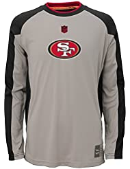 "San Francisco 49ers Jeunesse Youth NFL ""Covert"" Performance Long Sleeve T-Shirt"