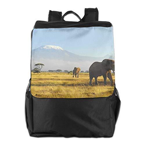 Bolsa de Viaje Casual Unisex de Elefantes africanos de la Vida Silvestre