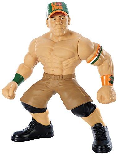 WWE - Super Luchadores de Combate Figura de acción - John Cena (Mattel)
