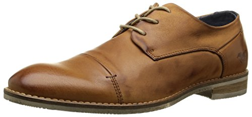 Mustang 4896301, Chaussures Lacées Homme Marron (300 Nuss Braun)