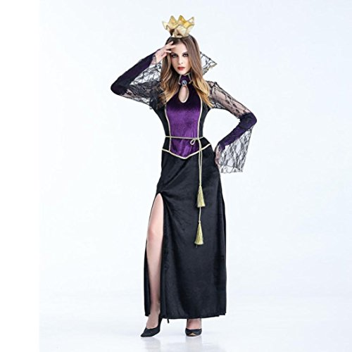 Hirolan Frau Sexy Vampir Hexe Kleid Halloween Cosplay Party Kostüm (M, (Spider Märchen Kostüme)