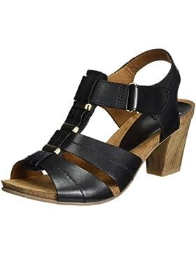 Caprice Damen 28309 Offene Sandalen mit Keilabsatz