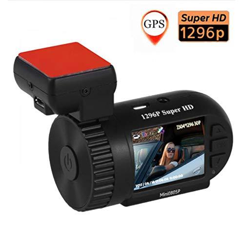 SZKJ 0805 Mini cámara Oculta HD 1296p para salpicadero de Coche DVR...