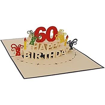 Geburtstagskarte 60er jahre