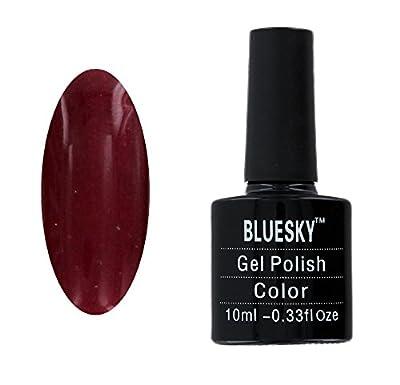 Bluesky Gel Nail Polish, Red Baroness 10 ml