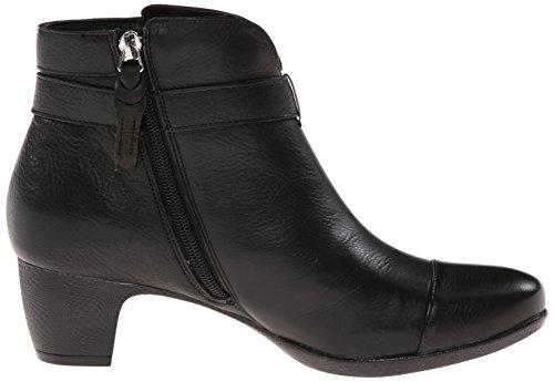 Softwalk Ivanhoe étroit Cuir Bottine Black