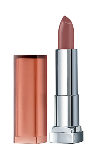 Maybelline New York Color Sensational Inti-Matte Nude Lipstick, Raw Cocoa, 3.9g