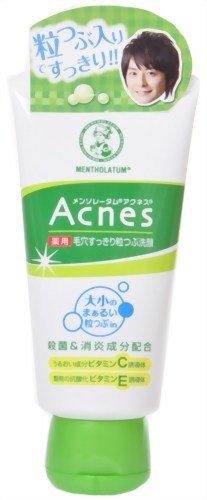 Rohto Acnes Pore Clear Facial Washing Facial Washing Foam 130g (japan import)