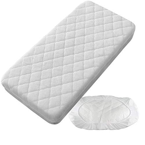 Protector Colchón Acolchado Impermeable - Cuna 60 x 120