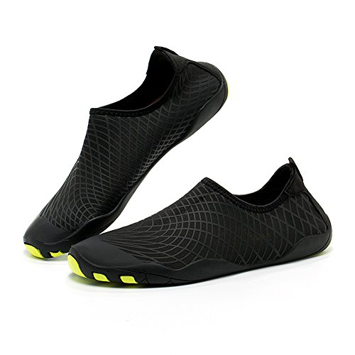 Yooeen Badeschuhe Unisex Schwimmschuhe Wasserschuhe Atmungsaktives Schnell Trocknend Strandschuhe Aquaschuhe Barfuß Schuhe Wasser Schuhe Surfschuhe für Damen Herren