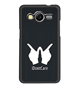 PrintDhaba Quote D-2403 Back Case Cover for SAMSUNG GALAXY CORE 2 G355H (Multi-Coloured)