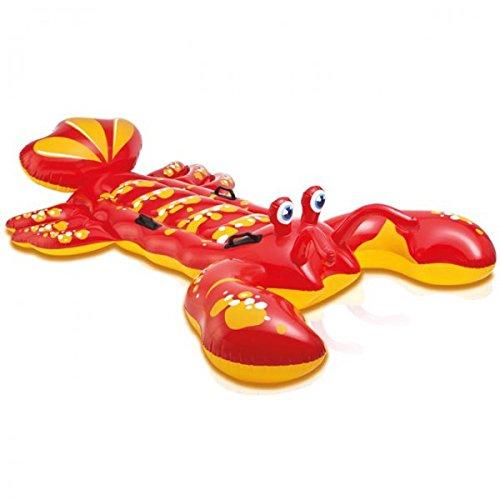 intex-reittier-hummer-rot-213-x-137cm-aufblasbar-schwimmen-wasser-kinder-schwimmhilfe-neu