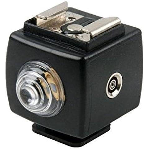 Generic-SYK-5-Flash Slave Trigger-Telecomando con presa per sincronizzazione PC, riduzione occhi rossi per Canon TTL-Flash? 580EXII 580EX 430EXII 420EX 380EX 550EX 430EX