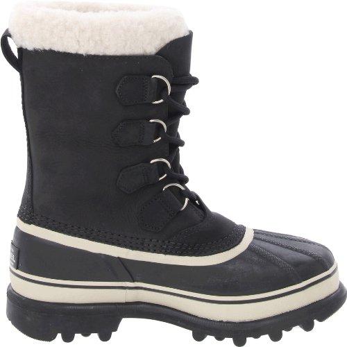Sorel Caribou - Stivali invernali da donna Nero (Black / Stone)