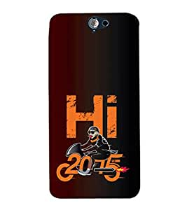 EPICCASE 2015 memories Mobile Back Case Cover For HTC One A9 (Designer Case)
