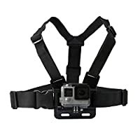WSS - Adjustable Chest Body Strap Harness Mount Holder for GoPro HD Hero 1 2 3 3+ 4 5 Action Video Camera Birthday Christmas Xmas Travel Outdoor Gift