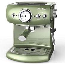 QWE Máquina de Café Bomba Café Exprés Máquina de Café Espresso Semiautomática ...
