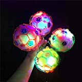 Kalaokei Kinder kreative LED-Lichtmusik Jumping Fu?Ball Bouncing Ball Toy